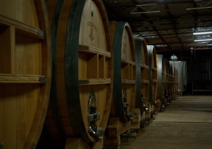 Cellar at Tyrell's Wines